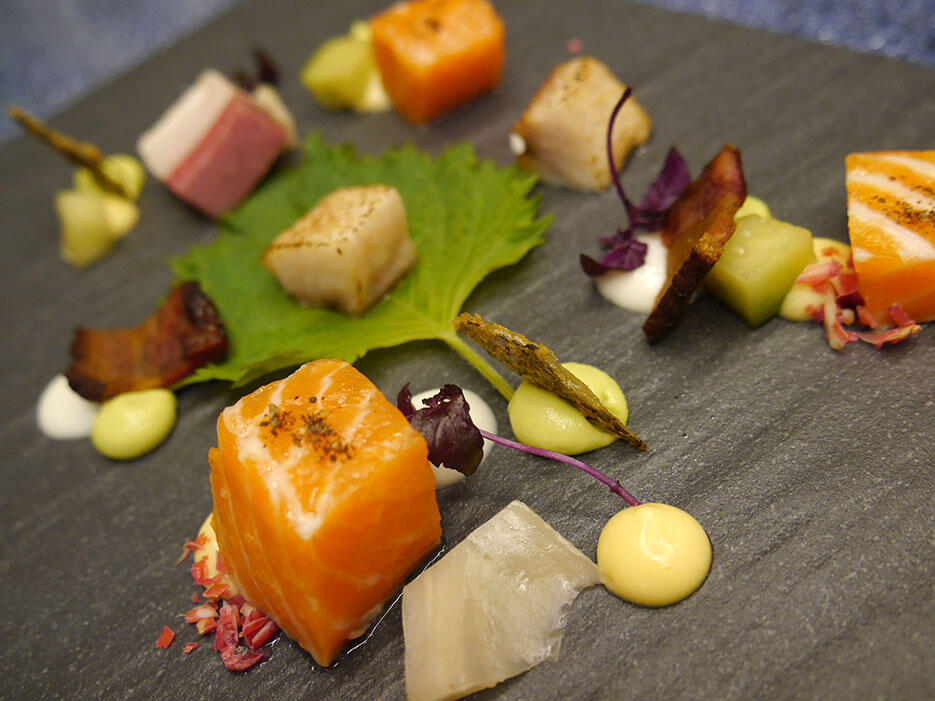 casa-fairy-mr-b-dinner-jun-chan_5-tuna-salmon