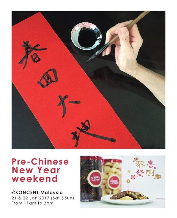 koncent malaysia cny calligraphy workshop