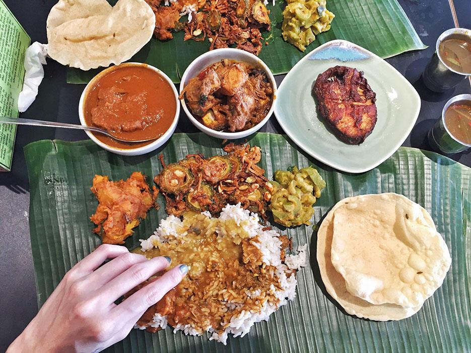 malaysian-food-11-macha-and-co-kota-damansara-banana-leaf-rice