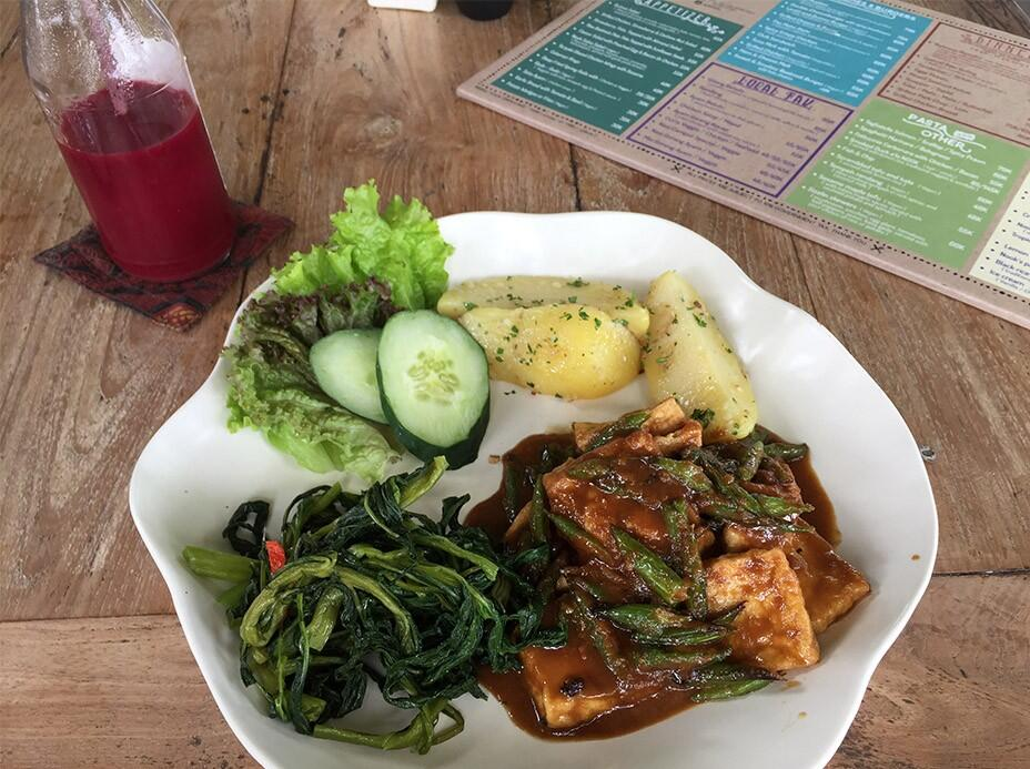 Bali Uluwatu Surf Villas 66 Tahini Maple Tofu Noodle Nook Bali
