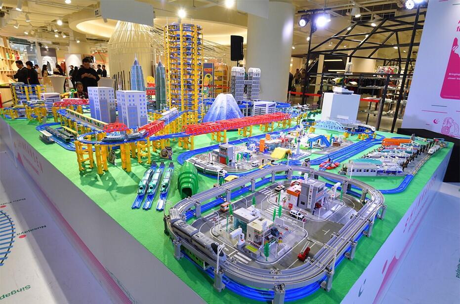 Shinkansen Exhibition @ Isetan The Japan Store Kuala Lumpur