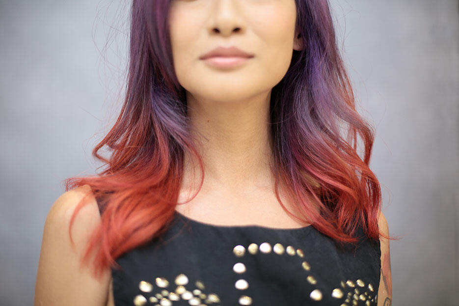 by-Ikwan-Hamid---Joyce-Wong-centro-hair-salon-malaysia-4-purple-red-hair-unicorn