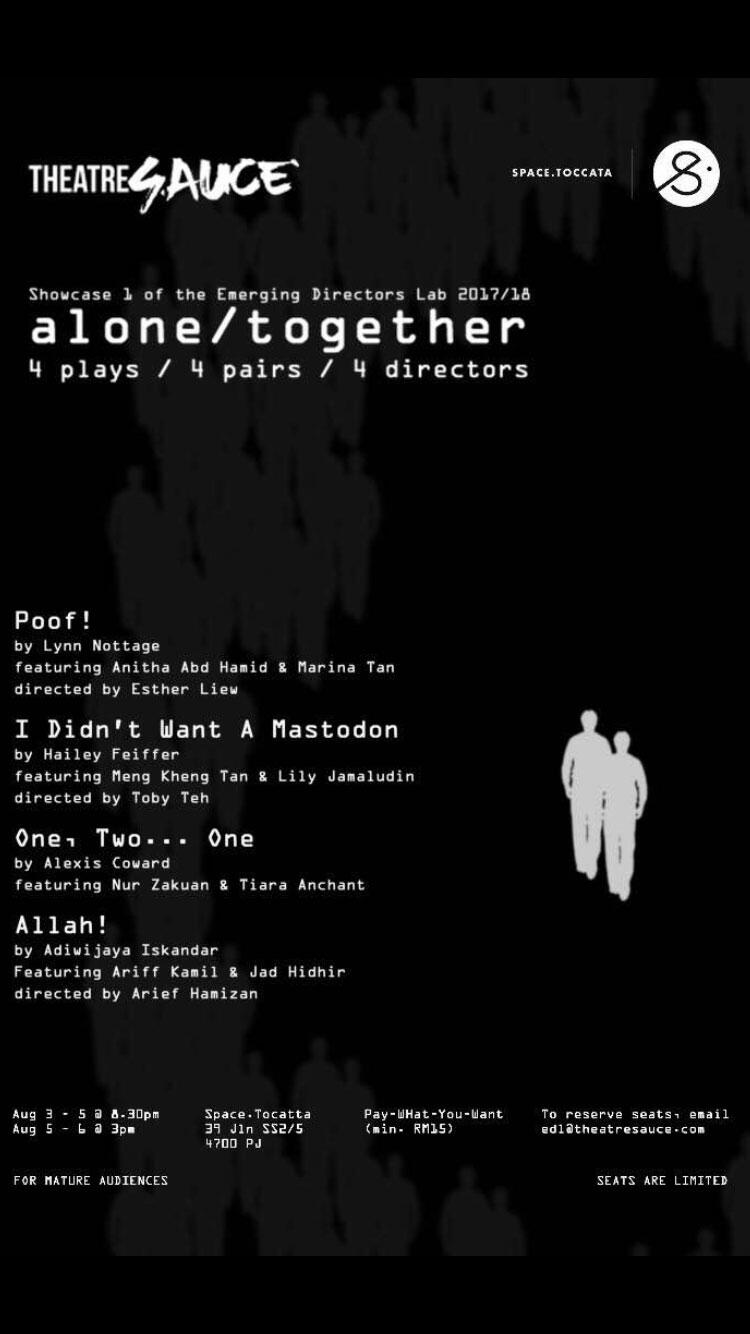 theatresauce-alone-together-malaysia-poster