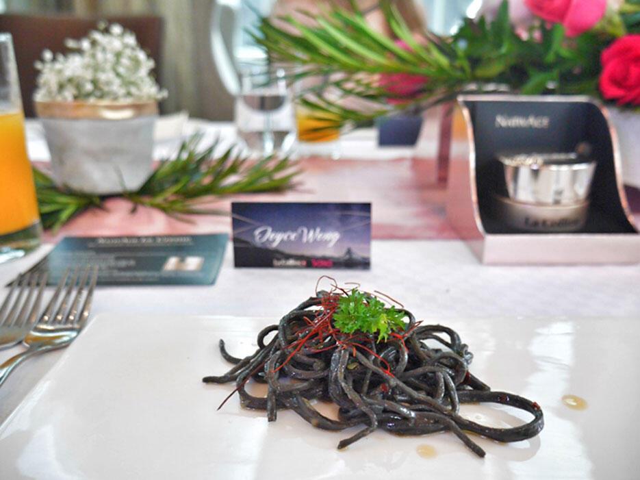 la-colline-nativage-event-launch-malaysia-tanzini-gtower_6-squid-ink-aglio-olio